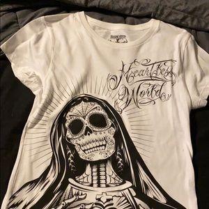 Woman's large iron fist shirt